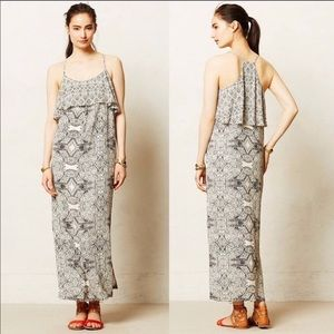 Anthro Vanessa Virginia Talitha Boho Maxi Dress